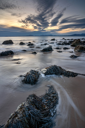 Water's edge, Llandangw Beach, Gwynned.